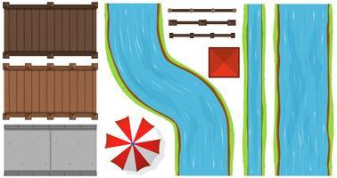 Ponts et rivières
