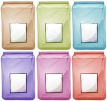 Sacs de différentes couleurs