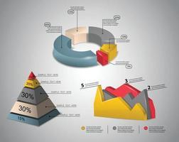 vecteur de conception graphique d'informations