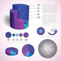 vecteur d'infographie d'informations