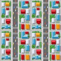 la vue de dessus du trafic, des transports, des transports est une carte vecteur