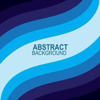vague bleue vecteur abstrait design plat stock illustration