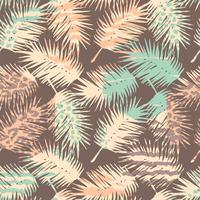 Abstrait modèle sans couture avec imprimé animal, plantes tropicales et formes géométriques.