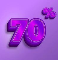 nombre effets de texte à vendre prix discount vecteur