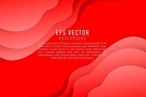 fond abstrait rouge vecteur