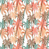 Imprimé d'été tropical avec palme.
