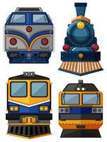 Différents types de trains vecteur