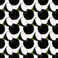 illustration sur le thème du radis noir motif lumineux vecteur