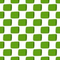 illustration sur le thème de l'oignon vert motif lumineux vecteur