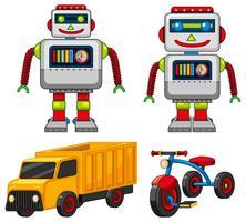 Jouets robot et véhicule