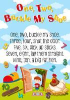 Un deux boucle ma chaussure