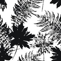 Modèle sans couture automne abstraite avec des feuilles. vecteur