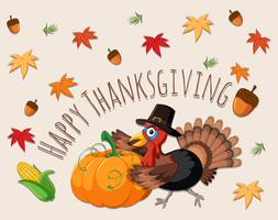 Carte concept Happy Thanksgiving