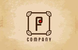 création de logo icône lettre alphabet. modèle d'entreprise et d'entreprise vecteur