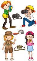 Les photographes vecteur