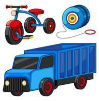 Jouets de camion et de tricycle