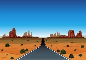 Road trip à travers le désert