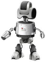 Conception de robot avec fonctionnalités avancées vecteur