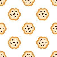 grand ensemble biscuit identique, kit biscuit pâtissier coloré vecteur
