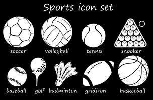 Icône de sport vecteur