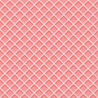 texture de cornet de gaufre de crème glacée. fond de gaufrette rose vecteur