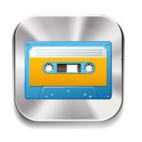 cassette vecteur