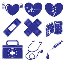 Fournitures médicales vecteur
