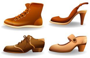 Des chaussures vecteur