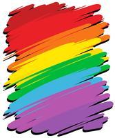 Design de fond avec la couleur arc en ciel vecteur