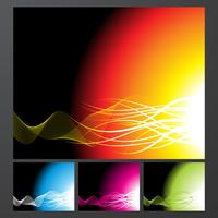 Collection de fond abstrait vector