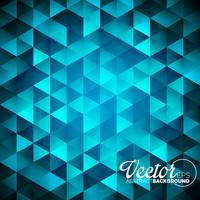 fond de triangles géométriques. Dessin polygonal abstrait. vecteur