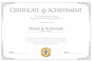 Certificat vecteur