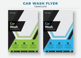modèles de flyer de lavage de voiture, flyer de vente de voiture vecteur