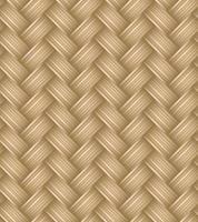texture de paille waven transparente. motif osier ou rotin vecteur