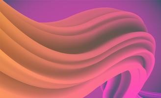 Fond de forme abstraite coloré pour la publicité, illustration vectorielle