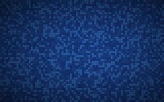 fond carré abstrait géométrique. aspect mosaïque bleu vecteur