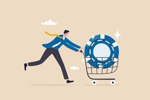 acheter des actions de premier ordre avec un rendement attendu élevé vecteur