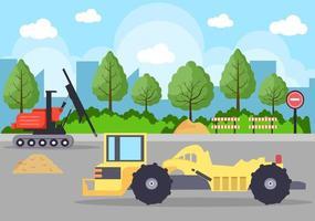construction de vecteur immobilier