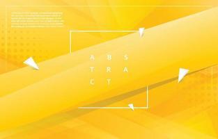 modèle de fond dégradé triangulaire jaune vecteur