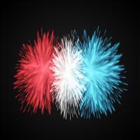 Explose coloré / fleurs, illustration vectorielle vecteur