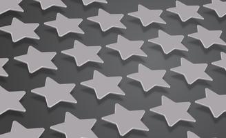 Étoiles ou fond 3D, illustration vectorielle vecteur