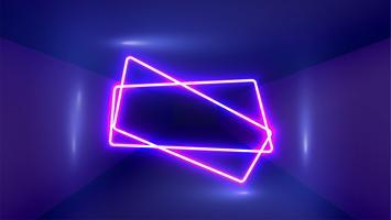 Fond de lumière néon très détaillée, illustration vectorielle vecteur