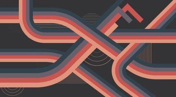 illustrations vectorielles rétro vecteur
