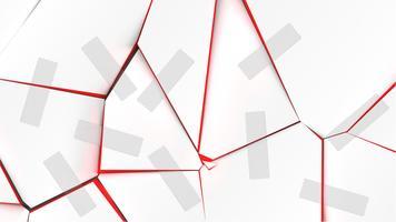 Surface cassée colorée avec des bandes, illustration vectorielle vecteur