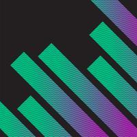 Abstrait coloré de néon, vector