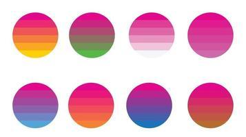 fond de couleurs de palettes vecteur