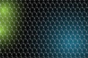 Fond de bulle abstrait vector