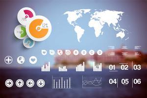 Illustration vectorielle infographie vecteur