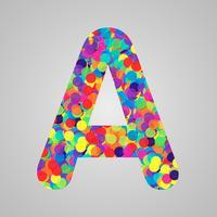 Personnage coloré d'une composition, illustration vectorielle vecteur