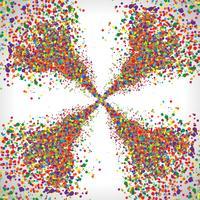 Points colorés, vector